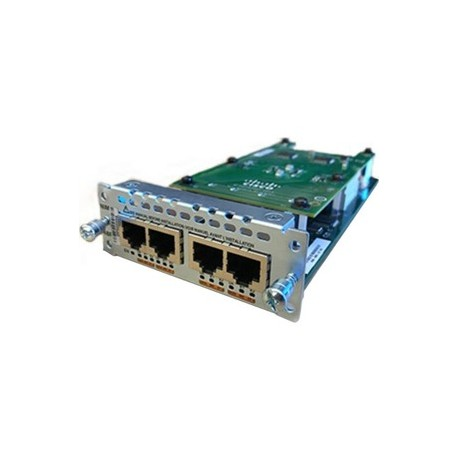 CISCO 4-port ISDN BRI S/T NIM Module