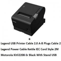 EPSON TM-T88VI USB + LI2208 USB + CABLES