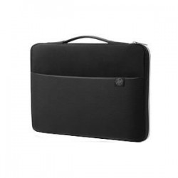 HP 15 Blk/Slv Carry Sleeve