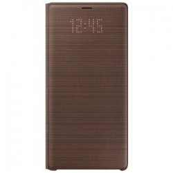 Samsung Note 9 LED View Cover Brown