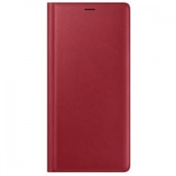 Samsung Note 9 Leather Wallet Red